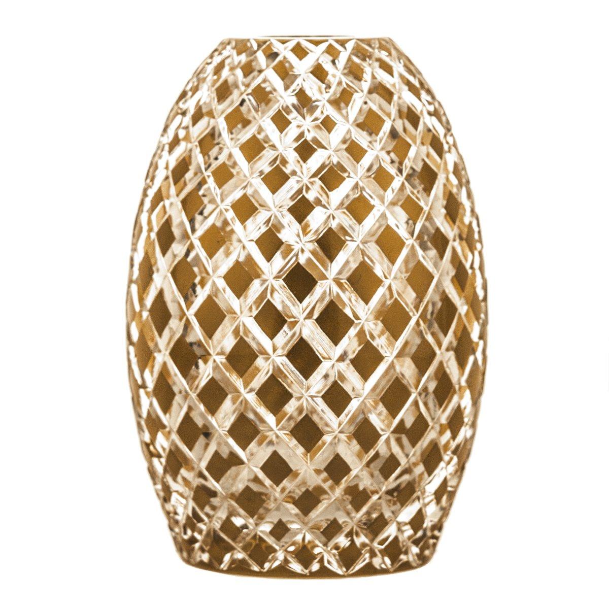 Crystaljulia 5433 Vase Vase Vase Bleikristall Gold B07F2L95ZK Vasen aac5ae