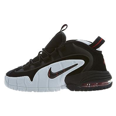 quality design 84127 5f04f Nike Air Max Penny Le Grands Enfants, Noir (Black White University Red