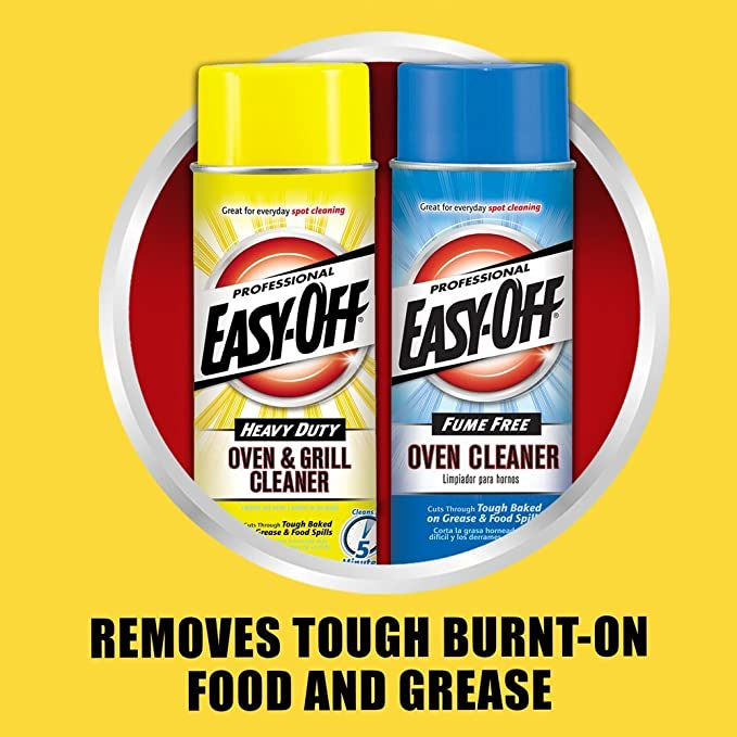 Buy Easy-Off Professional Fume Free Max Oven Cleaner, Lemon 144 oz (6 Cans  x 24 oz) Online at Low Prices in India - Amazon.in