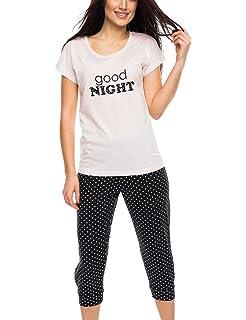 02aa199e79 Rössli Rossli Sal-PY 1081 Women s Pyjama Set 3 4 Sleeved Top Long ...