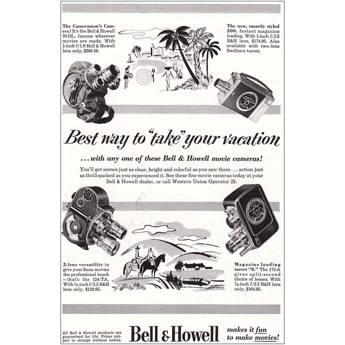 Amazon com: RelicPaper 1953 Bell & Howell Camera: Best Way
