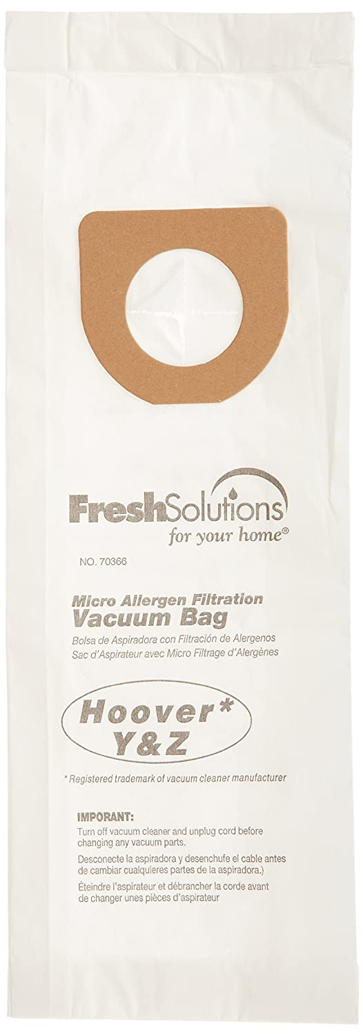 Hoover 70366 Hoover Y/Z, Micro Filtration Vacuum Bags, Qty 3
