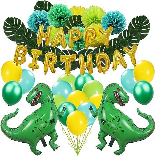 Amazon.com: Zooawa Happy Birthday Banner, juego de ...