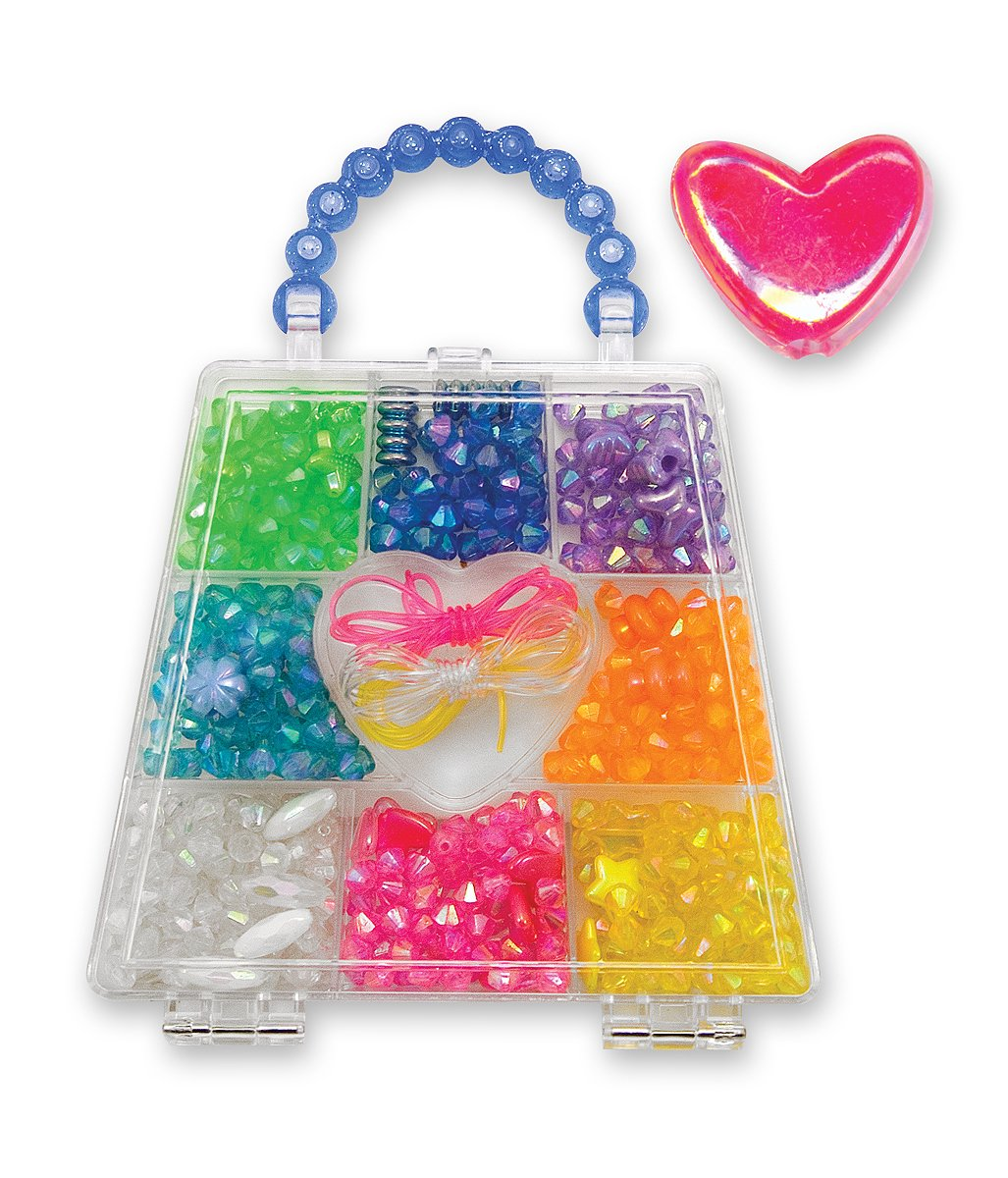 Melissa & Doug Rainbow Crystals Bead Set Over 500 Beads 4270