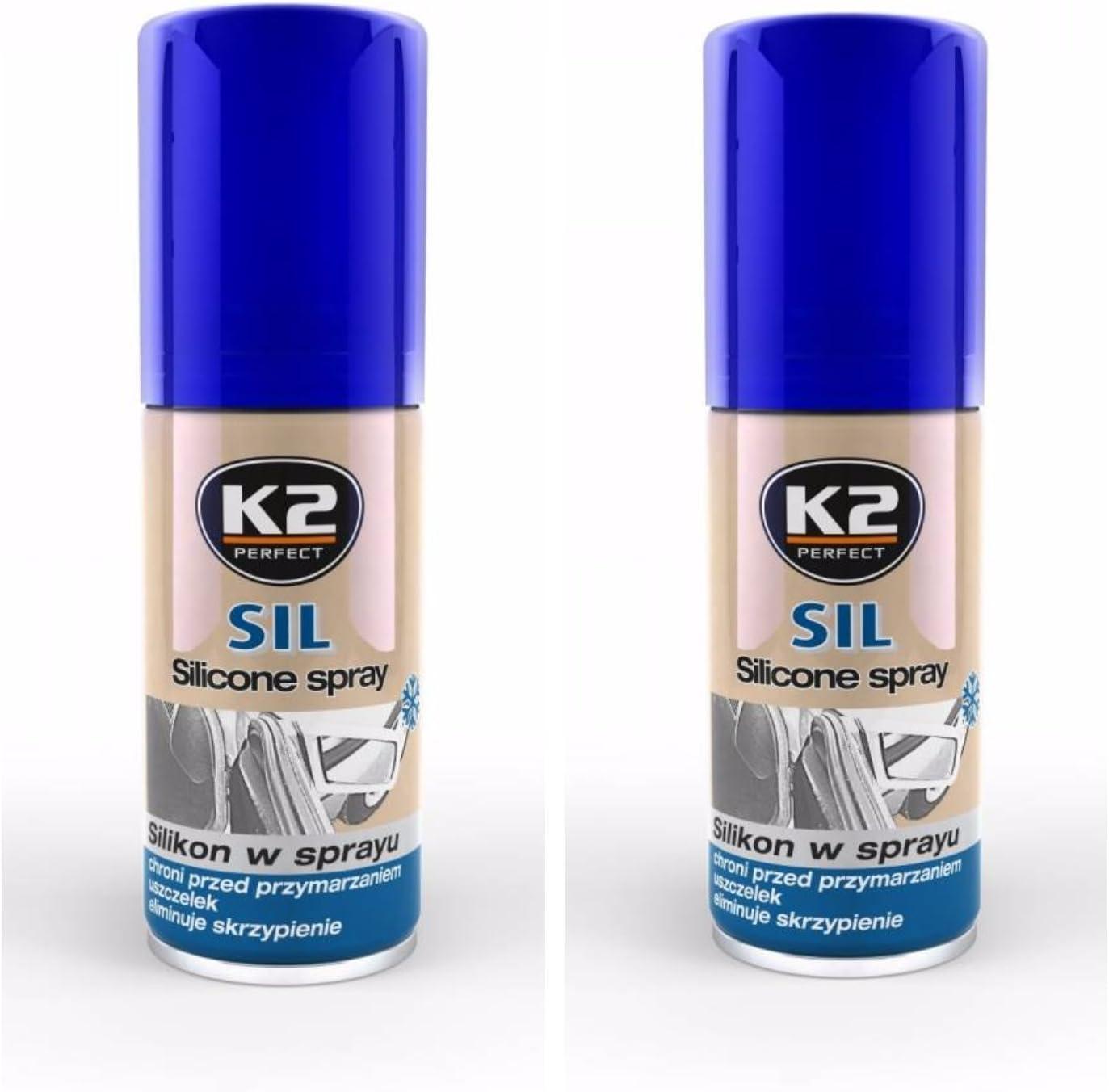 K2 Silicona Aerosol, Silicon Spray, Aceite - Lubricante, Spray 300 ...