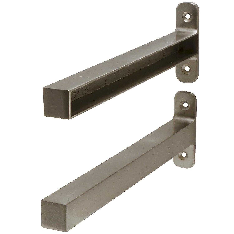aluminium Fetim 1151054 Dekorativer Regalhalter 1,8x23,5 cm-BOrganised