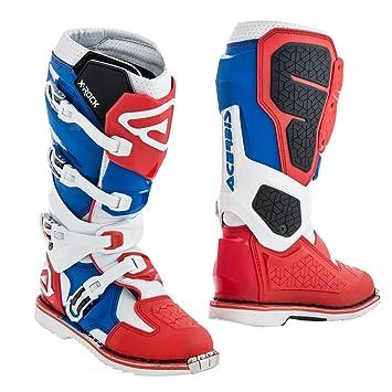 Acerbis Motocross Stiefel X Rock RotBlau: : Sport