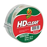 Duck HD Clear Heavy Duty Packing Tape