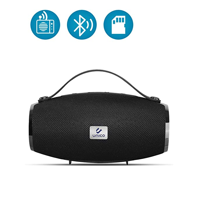 Unico - Altavoz Bluetooth 5,0 Radio FM, Altavoces Bluetooth ...