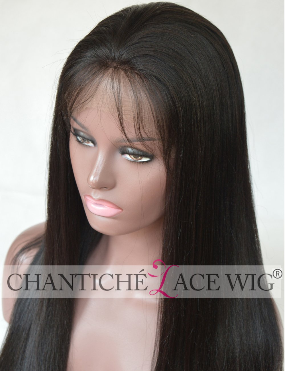 Amazon Chantiche 4x4 Silk Top Wig With Baby Hair Lace Front