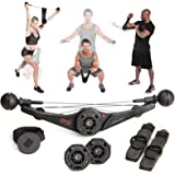 OYO Personal Gym - Full Body Portable Gym Equipment Set for Exercise at Home, Office or Travel - SpiraFlex Strength Training
