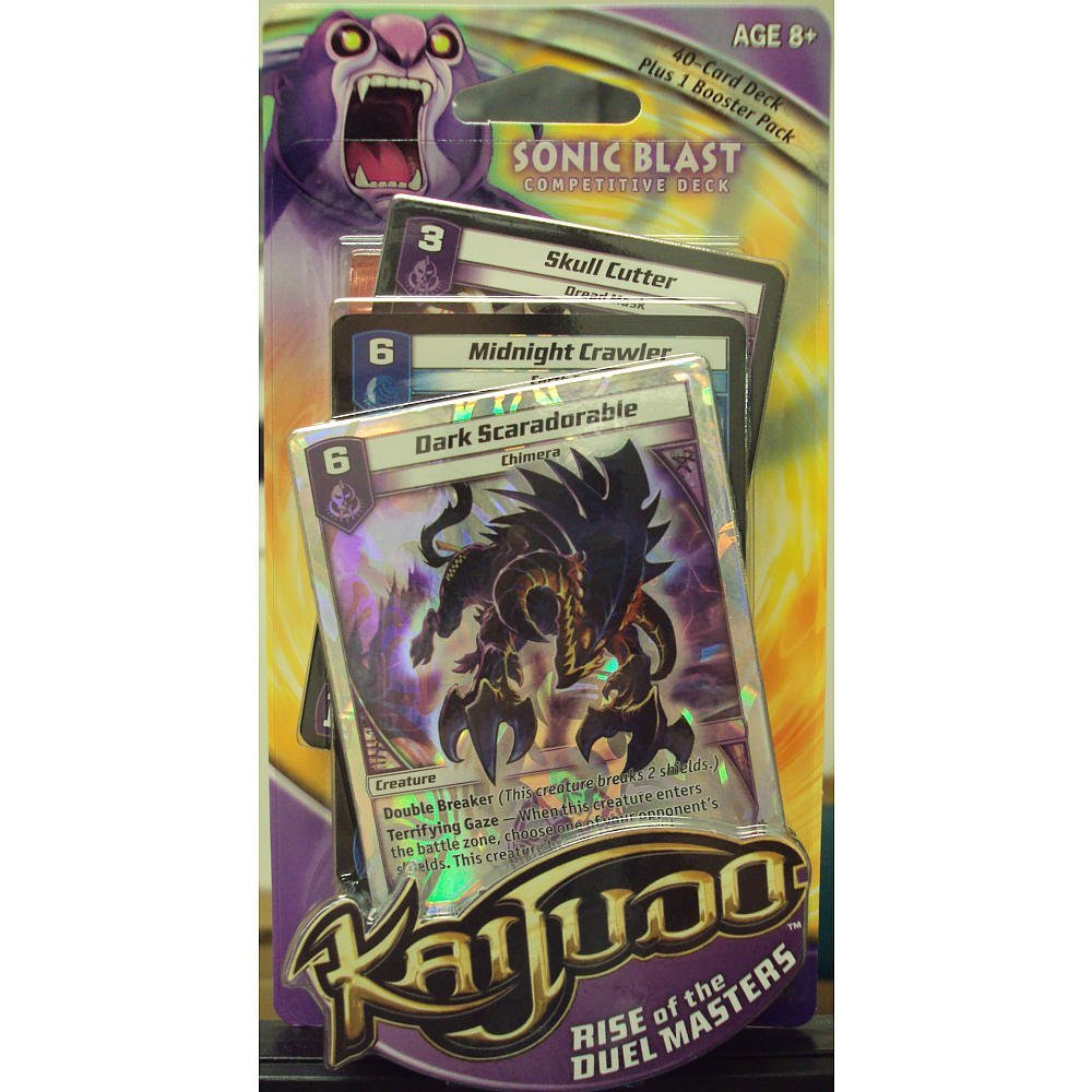 Kaijudo Trading Card Game Deck Sonic Blast by Wizards of the Coast Games