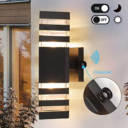 Dusk to Dawn Sensor Outdoor Wall Light