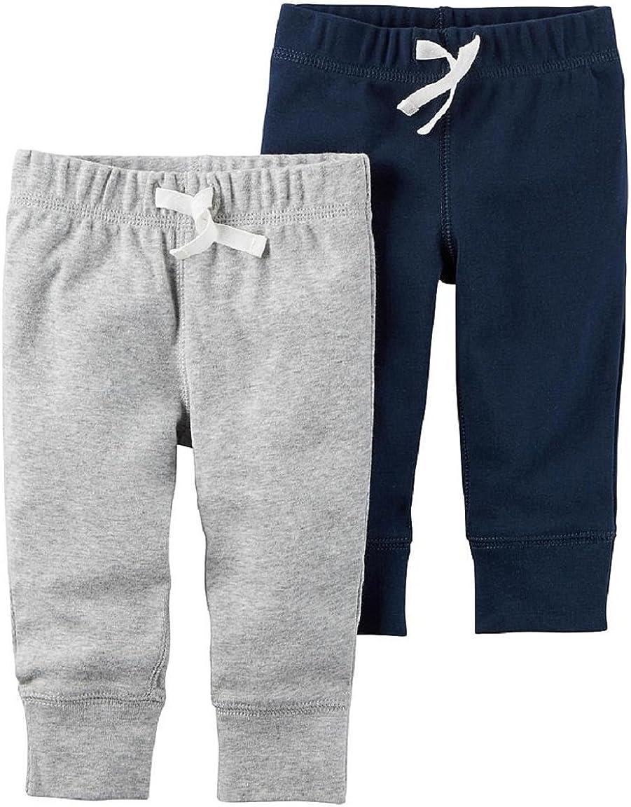 Newborn, Grey Carters Baby Boys Drawstring Pants Newborn