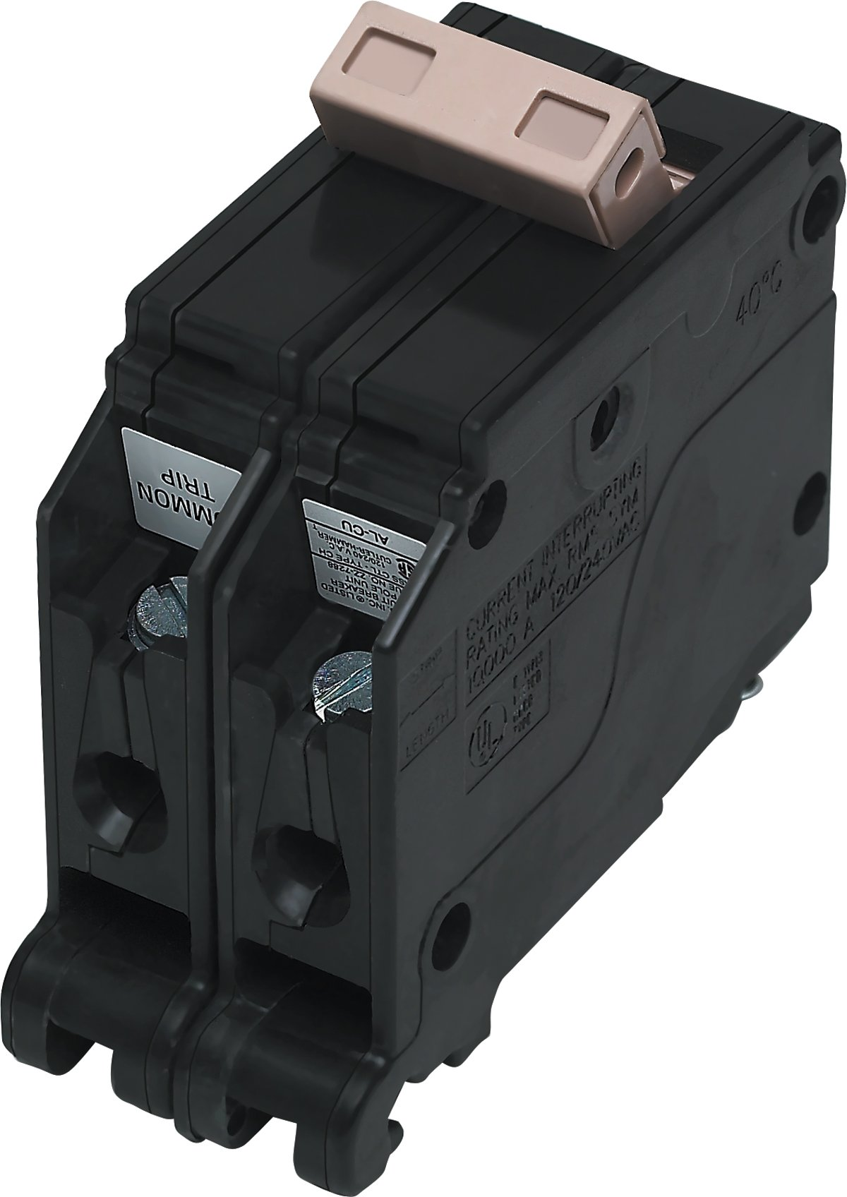 Cutler Hammer CH2100 Circuit Breaker, 2-Pole 100-Amp - Thermal ...