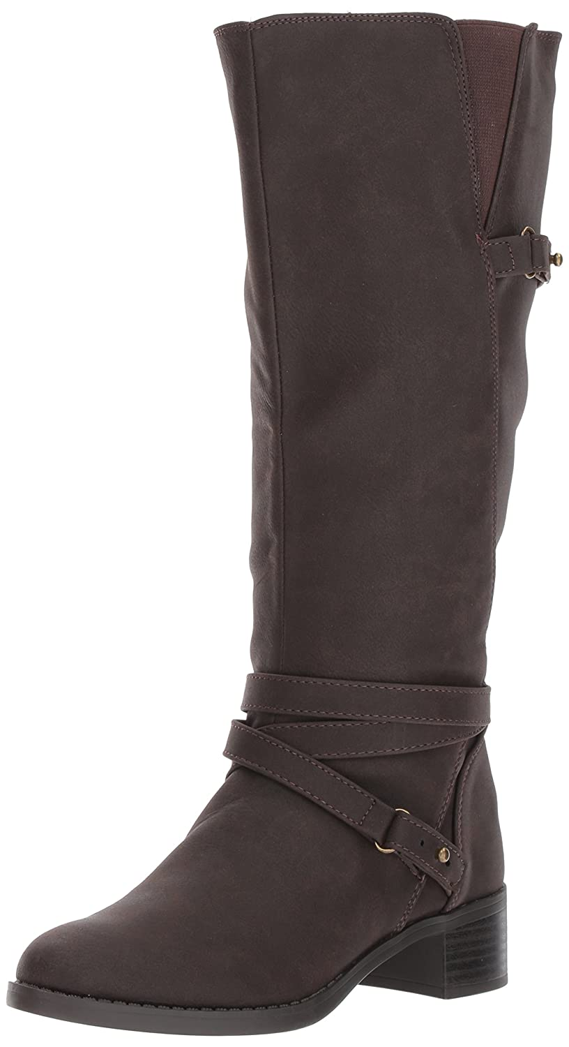 Easy Street Women's Carlita Plus Harness Boot B071ZM7MJN 5 B(M) US|Brown