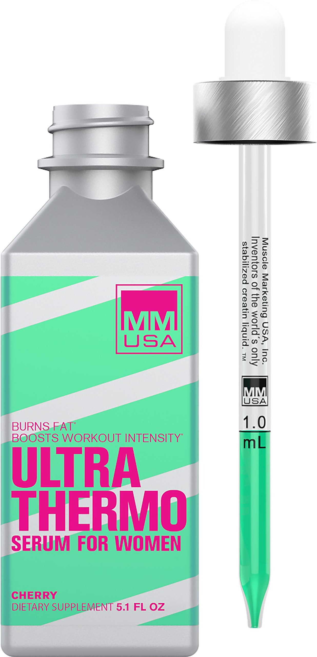MMUSA Ultra Thermo Serum. Weight loss for women, Burns stubborn fat, Boosts metabolism, Provides steady Pure Energy and Strength. Pre-workout for intense exercise. Stable creatine HCL.