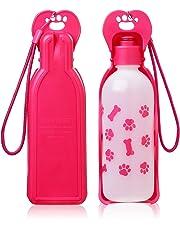 Anpetbest Dog Water Bottle Water Dispenser, Portable Foldable Travel Mug Drink Bottle for Daily Walks, Hiking, Camping, Beach, BPA Free Plastic (22 fl oz)