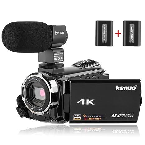 Kenuo - Micrófono para cámara réflex Digital, videocámara ...