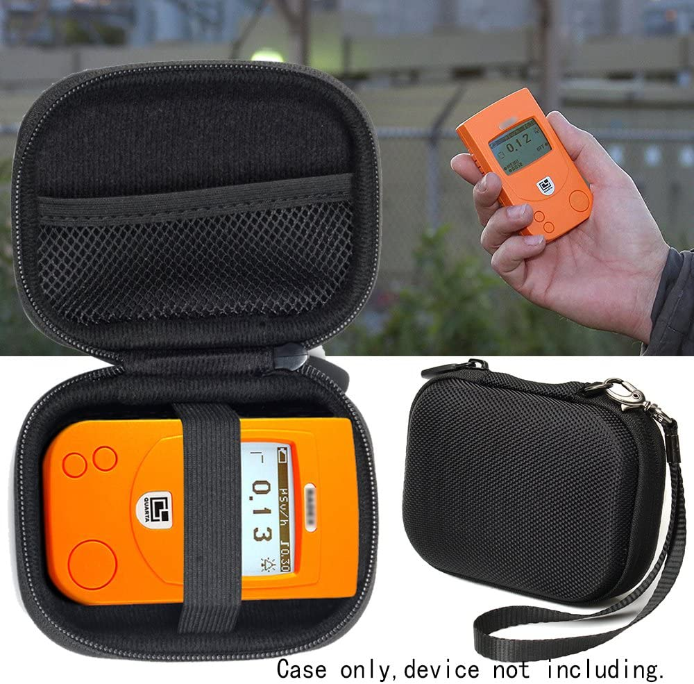 RD1706 Geiger Counter RD1503+with Radiation Detector Case for RADEX RD1212 Advanced mesh Accessories Pocket RD1212-BT Advanced Radiation Detector w//o Dosimeter Dosimeter w//Bluetooth