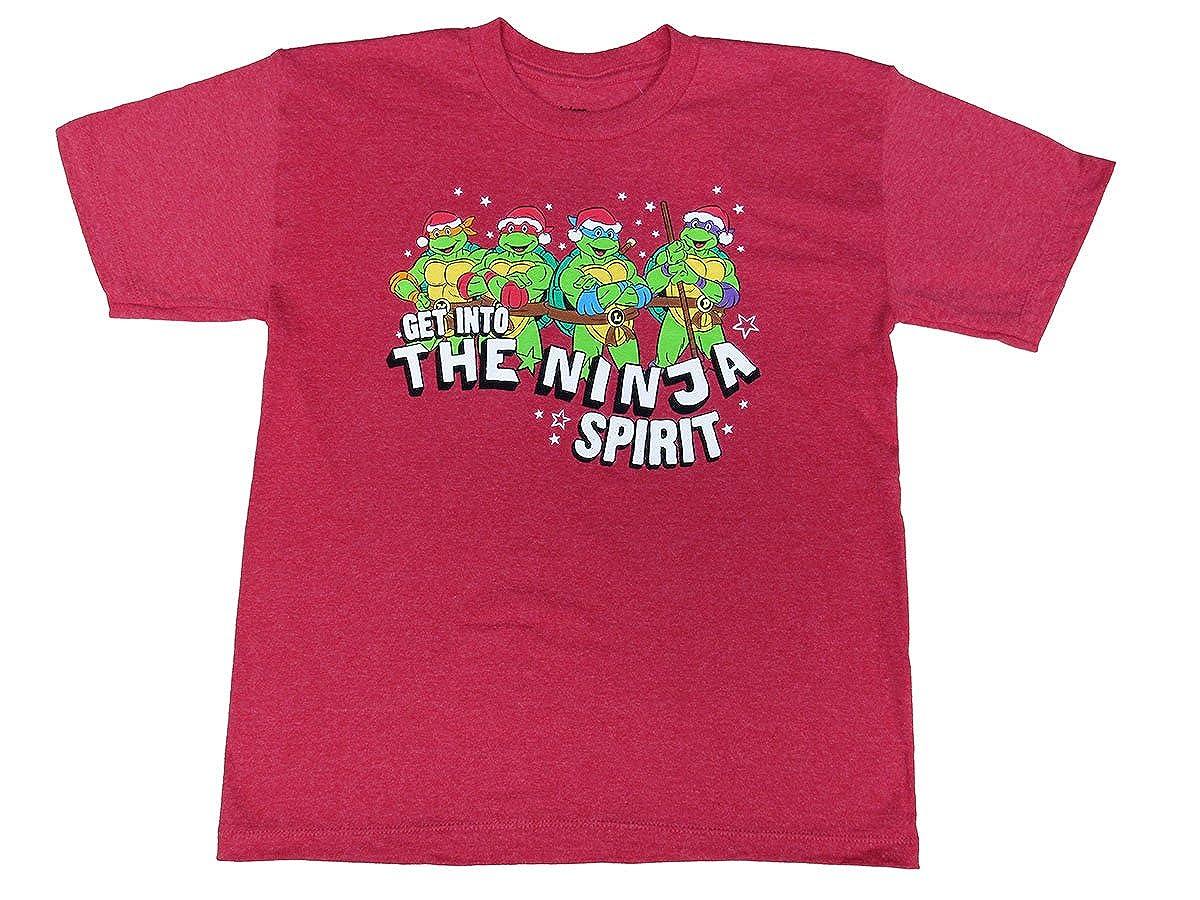 Amazon.com: Hybrid Ninja Turtles Get Into The Ninja Spirit T ...