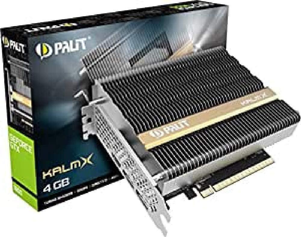 Amazon Com Palit Geforce Gtx 1650 Kalmx 4gb Gddr5 Grafikkarte Passiv 2xdp Hdmi Computers Accessories