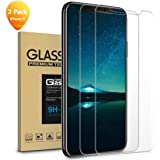 iPhone Xs Screen Protector,iPhone X Screen Protector,Tempered Glass Film for Apple iPhone Xs/x 5.8-inch, 2-Pack