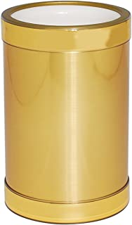 product image for Mr. Ice Bucket Brushed Wine Cooler, Gold