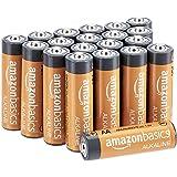 AmazonBasics AA Performance Alkaline Batteries, 20ct (Packaging May Vary)