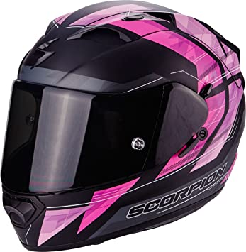 Scorpion Casco Moto EXO-1200 Air Hornet, Matt Pink, ...
