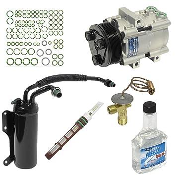 Universal aire acondicionado KT 1556 A/C compresor y Kit de componente