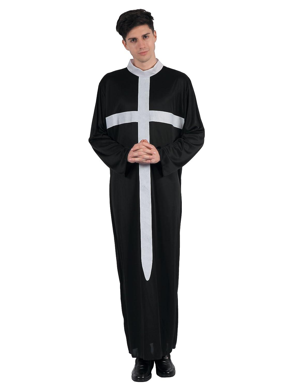 Generique - Disfraz de Cura Cruz Blanca Hombre XL: Amazon.es ...