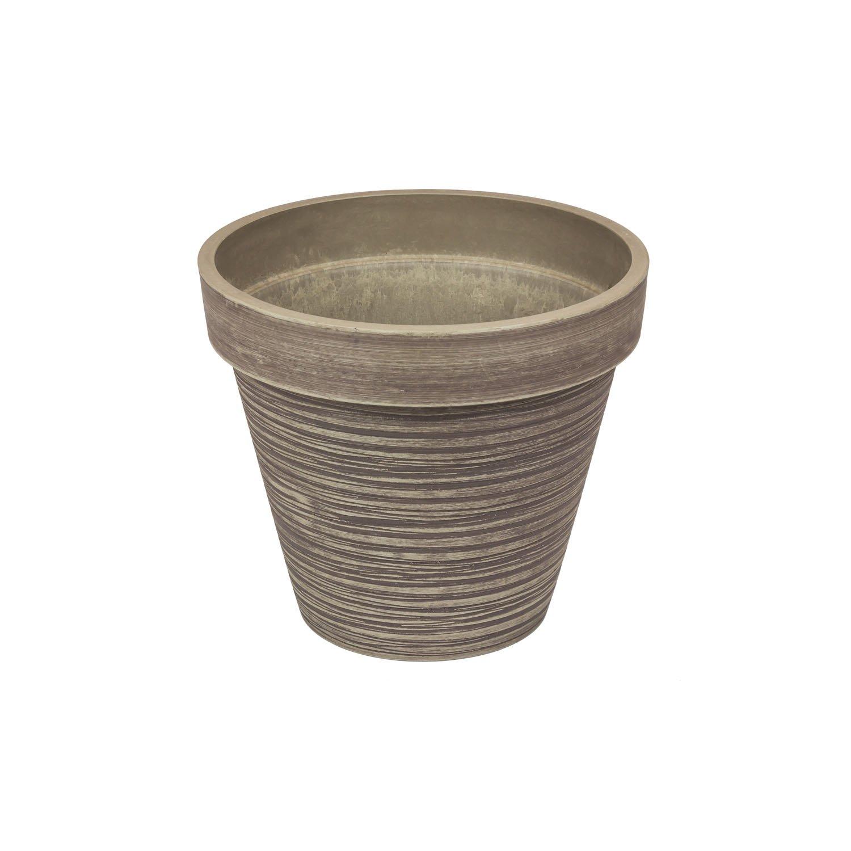 prezzi bassi di tutti i giorni Vaso per piante in composito TinTours bordato, altezza 30,5 30,5 30,5 cm, colore  taupe  migliore vendita