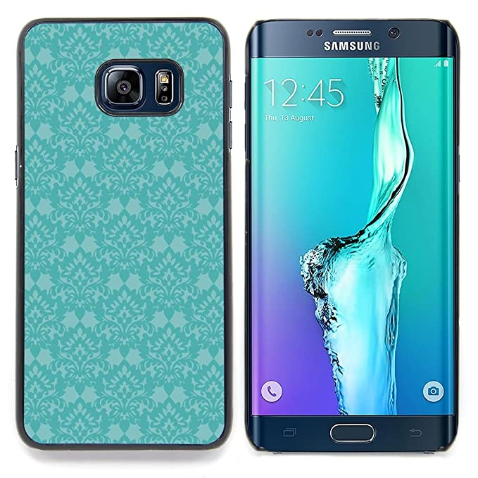 For Samsung Galaxy S6 Edge Plus S6 Edge G928 Case Blue Retro Vintage Wallpaper Old Colorful Pattern Hard Back Snap On Cover Case Skin Mobile Phone Shell Bumper Amazon Co Uk Electronics