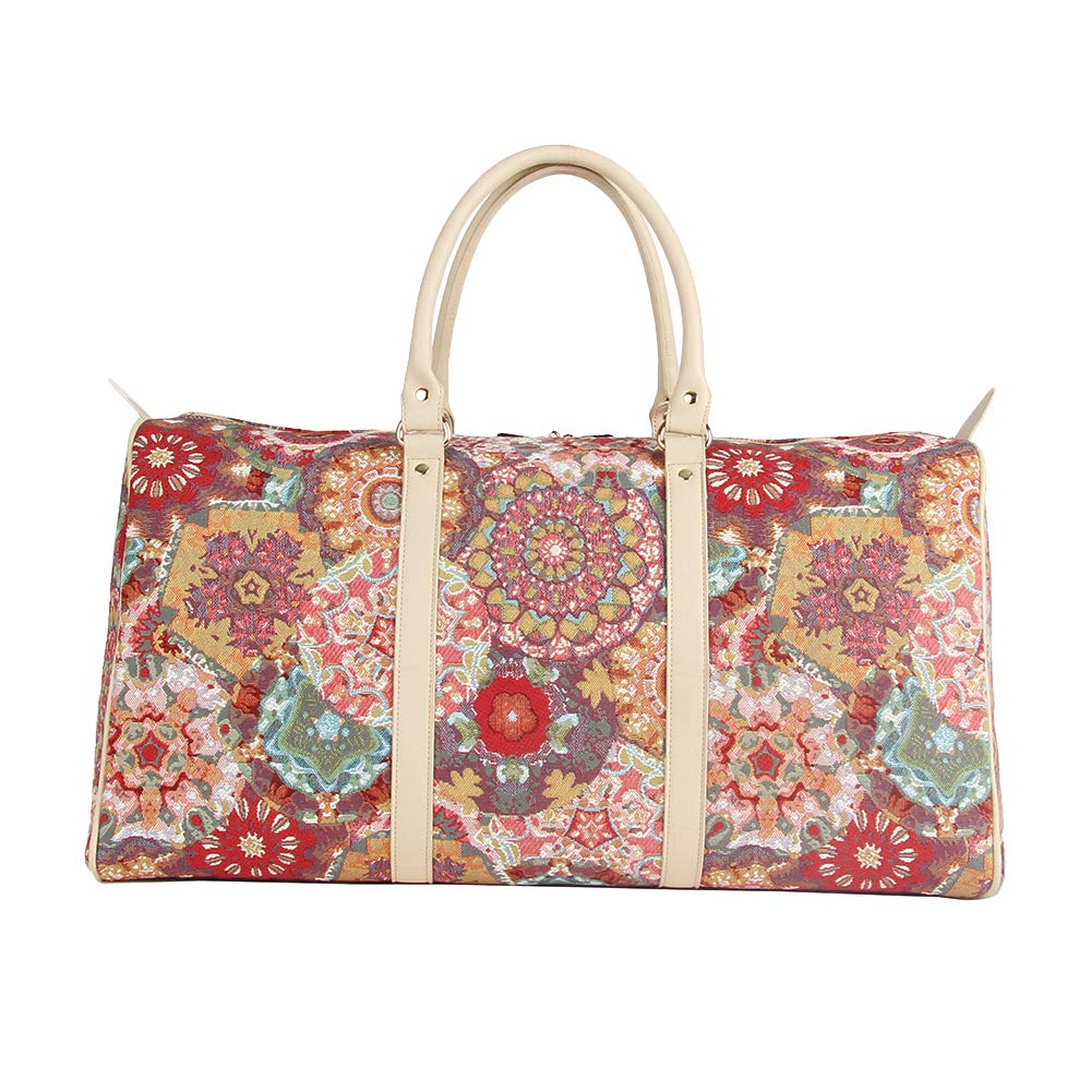 Kaleidoscope Big Holdall by Signare/Colourful Ladies Travel Sports Tapestry Luggage/BHOLD-KALE