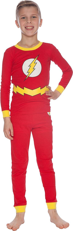 Amazon.com: DC Comics Flash Little Boys 2 pieza camisa ...