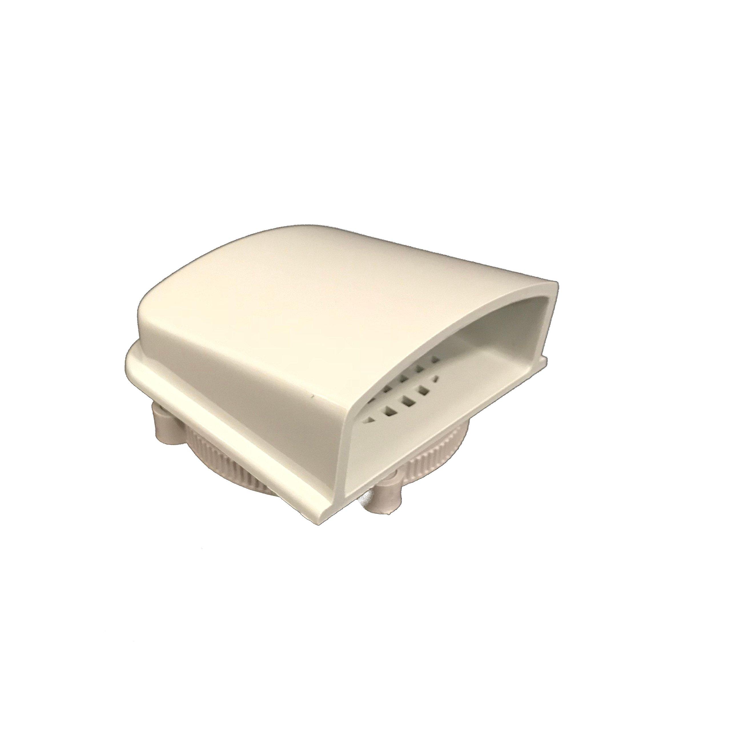 BUD Industries IPV-1115 IP32 Air Vent, 3.2'' x 3.2''