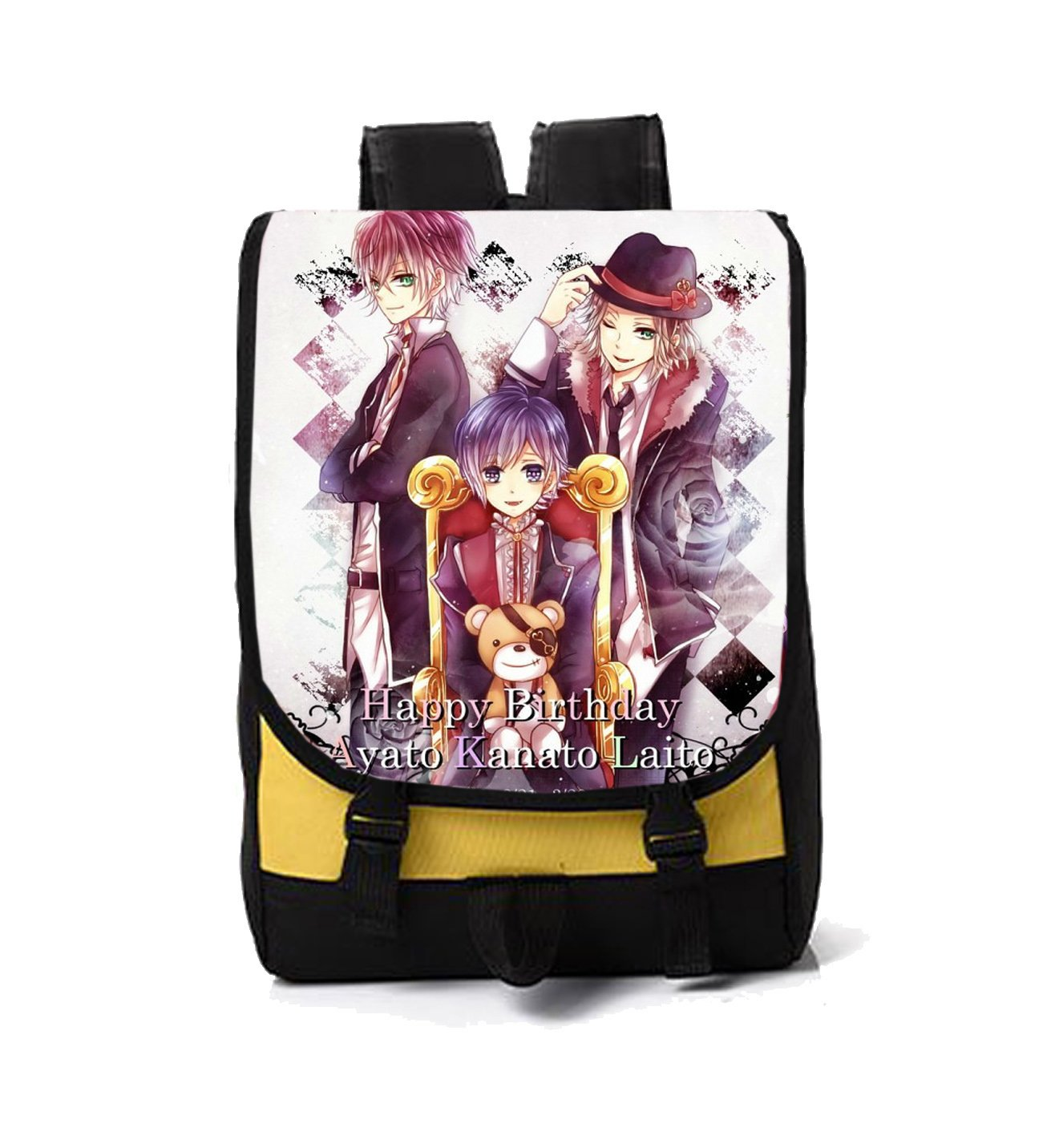 Dreamcosplay Anime Diabolik Loves Logo Backpack Bag Cosplay by Dreamcosplay (Image #1)