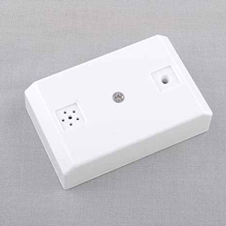 New CCTV Mic Microphone Sound Pick-Up Monitor Voice Audio Security White