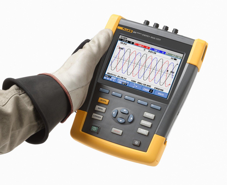 Fluke 434 Series II Three-Phase Energy Analyzer: Voltage Testers: Amazon.com: Home Improvement