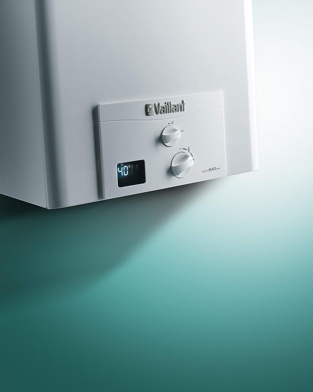 Vaillant green - Calentador atmomag mini es/pt11-0/1xi gas butano clase de eficiencia energetica: Amazon.es: Bricolaje y herramientas