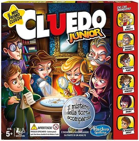 Hasbro Gaming - Cluedo Junior, el Misterio de la Tarta desaparece (Juego en Caja), C1293103: Amazon.es: Juguetes y juegos
