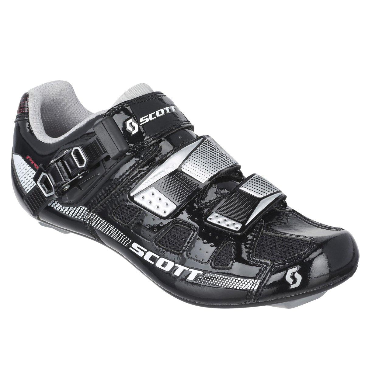 Scott Sports 2016 Women's Pro Road Cycling Shoe - 242137-4314 (black/white gloss - 39.0)