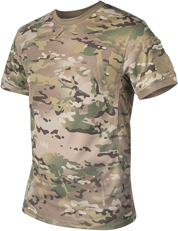 Helikon Hombres Táctica Camiseta Camogrom tamaño L: Amazon.es: Ropa y accesorios