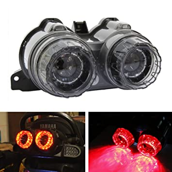 iJDMTOY JDM Afterburner LED Taillight Turn Signal Lamps For