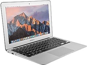 Apple MacBook Air 13.3-inch MJVE2LL/A, 2.2Ghz Intel Core i7-5650U, 8GB RAM, 256GB SSD, Silver (Renewed)