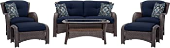Strathmere 6-Pc Seating Set Outdoor Furniture