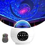 Star Projector Galaxy Light Projector for Bedroom Sky Night Light Projector Large Area Projection Ocean Wave w/LED…