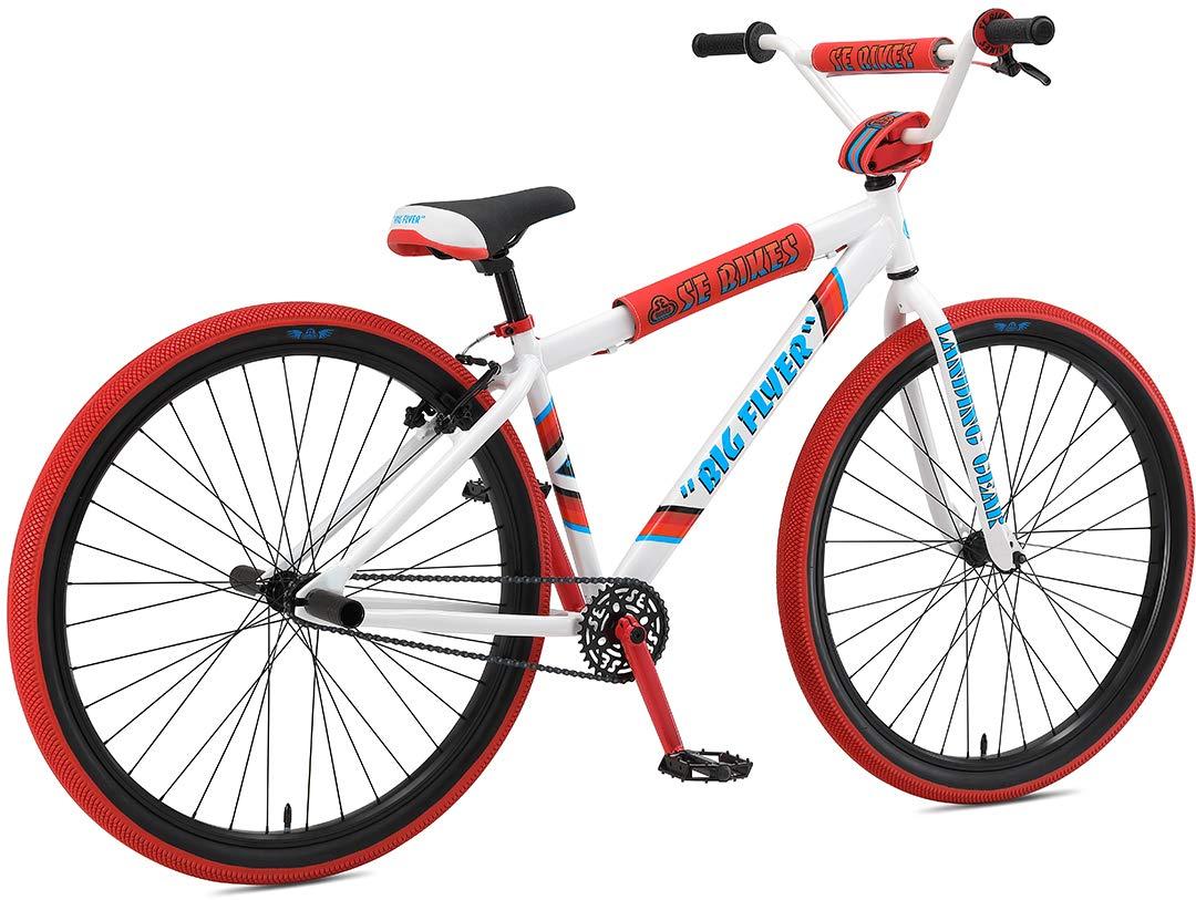 SE Big Flyer 29 BMX Bike White Mens Sz 29in