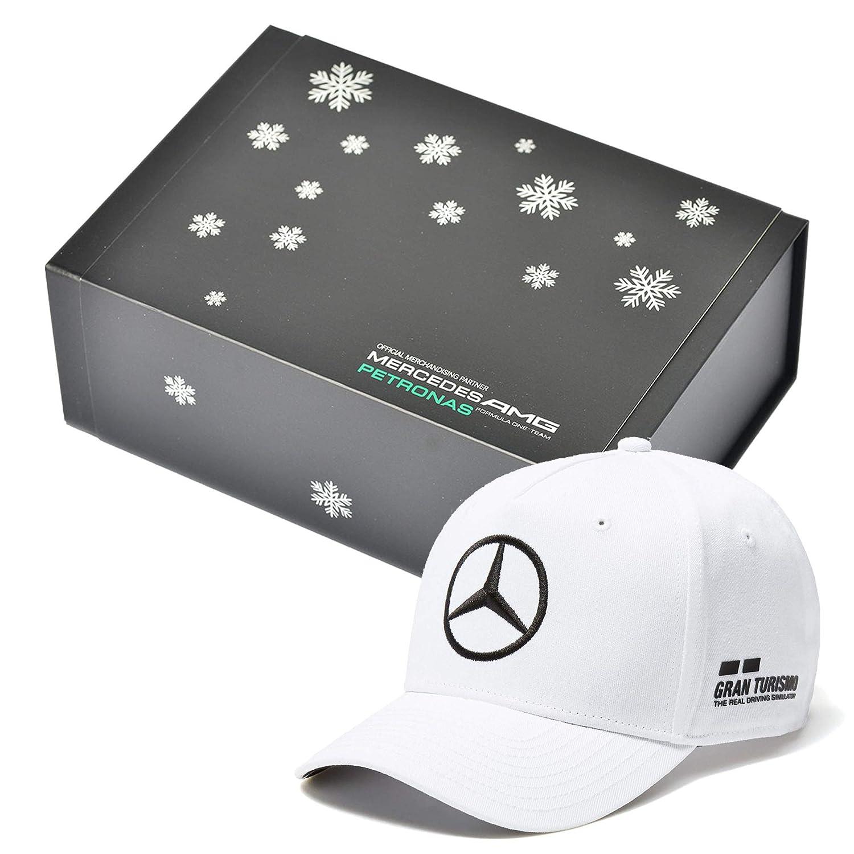 Whybee 2018 Lewis Hamilton Gorra del Equipo Blanca en Caja Oficial ...